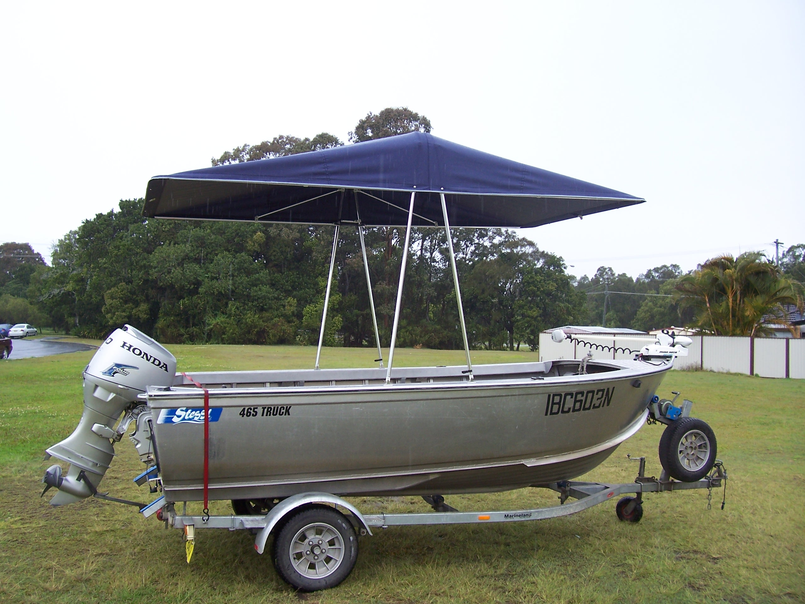Custom Kingfisher Canopy 3.6m x 2.1m